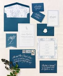Wedding Envelopes 28 Gorgeous Indigo Wedding Stationery Ideas Weddingomania