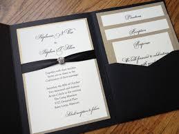 wedding invitations with pockets plumegiant com