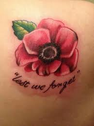 poppy lest we forget tattoo getting this on my foot next help