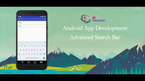 search android studio tutorial advanced search bar youtube