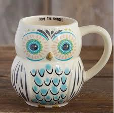 owl mug folk owl mugs