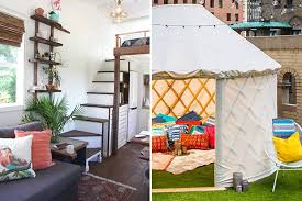 Home Interior Design News Design News Now A 250 Square Foot House U0026 Glamping In Nyc