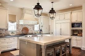 kitchen with brick backsplash charming greige kitchen cabinets 9 kitchen with brick