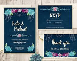 diy wedding invitations kits wedding invitation kits etsy