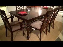 standard furniture dining room sets woodmont rectangular dining table by standard furniture home