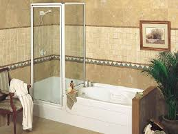 Shower And Tub Combo For Small Bathrooms Small Bathtub Shower Combo Design Bathtub The Small