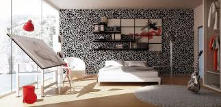 cool bedroom wall art for teens with creative interior design and
