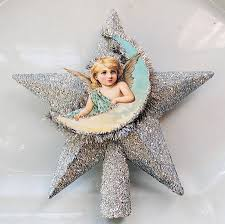 Retro Christmas Tree Toppers - how to make an angel tree topper dollar store decorating the