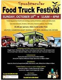 celebrate halloween at the spooktacular food truck festival on oct