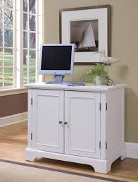 Compact Computer Desk With Hutch Home Styles 5530 19 Naples White Compact Computer Desk