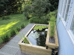 Pond In Backyard by Best 25 Above Ground Pond Ideas On Pinterest Pond Ideas Small