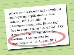 how to write a resume job description 4 ways to write an effective job description wikihow