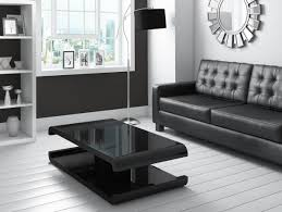 Coffee Tables With Led Lights Black High Gloss Coffee Table With Led Lighting Furniture123