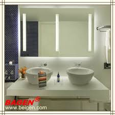 Bathroom Vanity Mirror With Lights Bathroom Mirror With Lights For Hotel Bathroom Mirror With