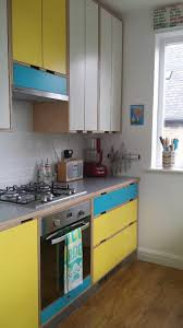 yellow cabinets kitchen home decoration ideas