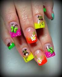 awesome nail designs for kids with acrylic for summer idea http