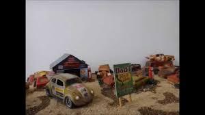 junkyard car youtube video ferro velho coleção escala 1 64 junk yard cars youtube