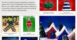 bead sequin ornament kits review