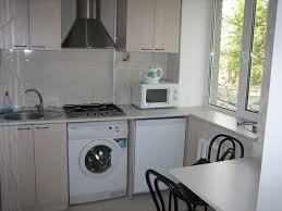 laundry in kitchen ideas small kitchen laundry normabudden com