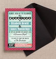 Red And Black Wedding Invitations 17 Of The Best Printable Wedding Invitations Ever