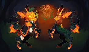 trick or treat halloween pumpkin rider clos by phloxebutt on