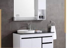 Bathroom Furniture Modern High Quality Modern Wall Mounted Pvc Bathroom Cabinet View Pvc
