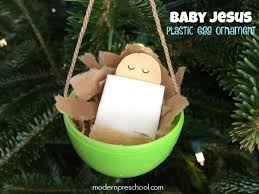 baby jesus ornament inspired by silent
