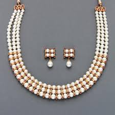 pearls necklace sets images Pearl jewellery pearl necklace wholesale pearl jewelry from jpg