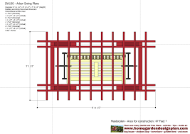arbor swing plans woodworking plans can storage rack arbor plans pdf wooden plans