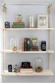 hanging bookshelves 31 diy hanging shelves perfect for every room in your home ritely
