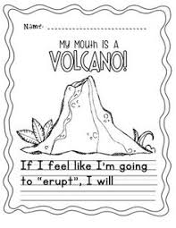 copy of my mouth is a volcano lessons tes teach