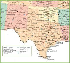 Map Of Virginia Cities Map New Mexico And Texas