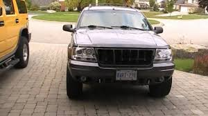 2000 black jeep grand jeep wj project update removal of grill and plans for the