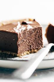 mind blowing vegan chocolate pie recipe pinch of yum