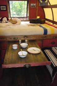 44 cheap and easy ways to organize your rv camper sleeping nook