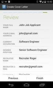cover letter maker cover letter maker apk free business app for android