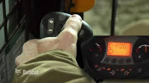 bobcat selectable joystick controls the industry u0027s most advanced