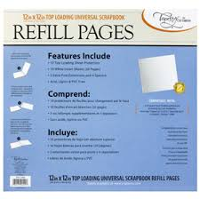 scrapbook refill pages stk12 3464 tapestry and markings 12x12 scrapbook refills