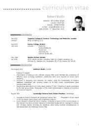 resume setup example resume format uk free resume example and writing download uk resume format