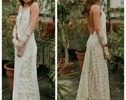 Wedding Dresses Vintage Lace Wedding Dress Etsy