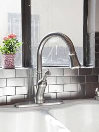 how to install subway tile backsplash kitchen 11 creative subway tile backsplash ideas hgtv