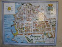 Antibes France Map by Postcard From Antibes France U2013 The Red Phone Box Travels
