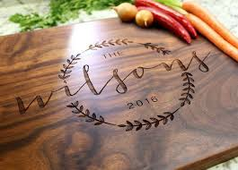 personalized cutting board wedding gift well personalized cutting board wedding gift 4 sheriffjimonline