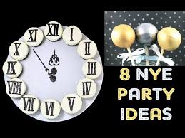 New Year S Decorated Cupcakes by 8 Nye Desserts Clock Cupcakes Ball Drop Cakepops Beer Pong