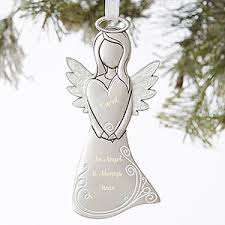 personalized remembrance ornaments personalized memorial christmas ornaments personalizationmall