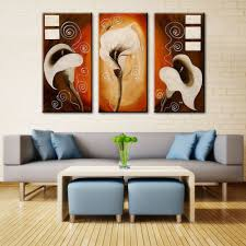 3 pieces set magnolia flower vase paintings picture hand painted 3 pieces set magnolia flower vase paintings picture hand painted group oil painting wall mural poster set of 3 no frame in painting calligraphy from