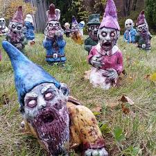 your neighbors will these garden gnomes bored panda