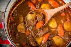 guinness beef stew recipe saving room for dessert