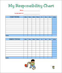 chore list template 7 chore chart templates free word excel pdf documents