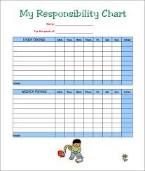 Chore Sheet Template Free Customizable Chore Chart Template